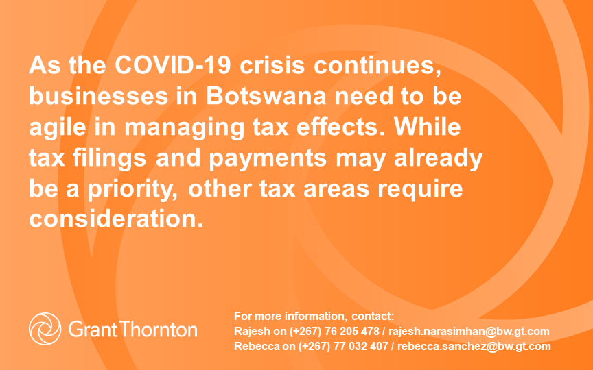 COVID-19 Tax resilience amid global and local disruption