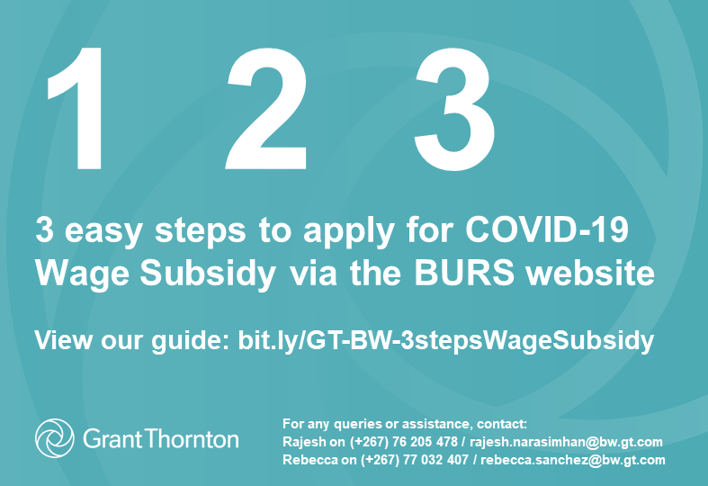 COVID-19 3 easy steps to apply for Wage Subsidy