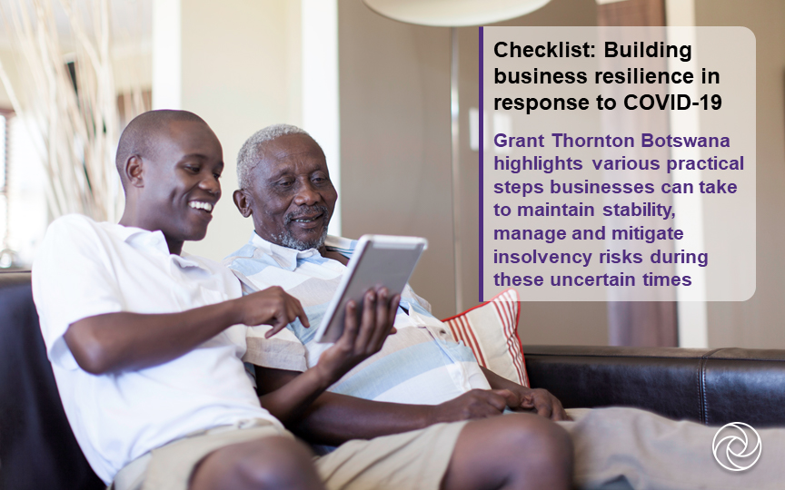 COVID-19 checklist: Building business resilience